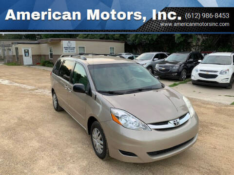 2006 Toyota Sienna for sale at American Motors, Inc. in Farmington MN