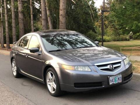 2004 Acura TL for sale at CLEAR CHOICE AUTOMOTIVE in Milwaukie OR