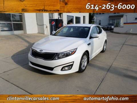 2015 Kia Optima for sale at Clintonville Car Sales in Columbus OH