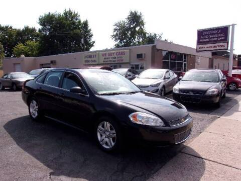 2013 Chevrolet Impala for sale at Gregory J Auto Sales in Roseville MI