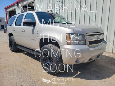 2009 Chevrolet Tahoe for sale at Rosedale Auto Sales Incorporated in Kansas City KS