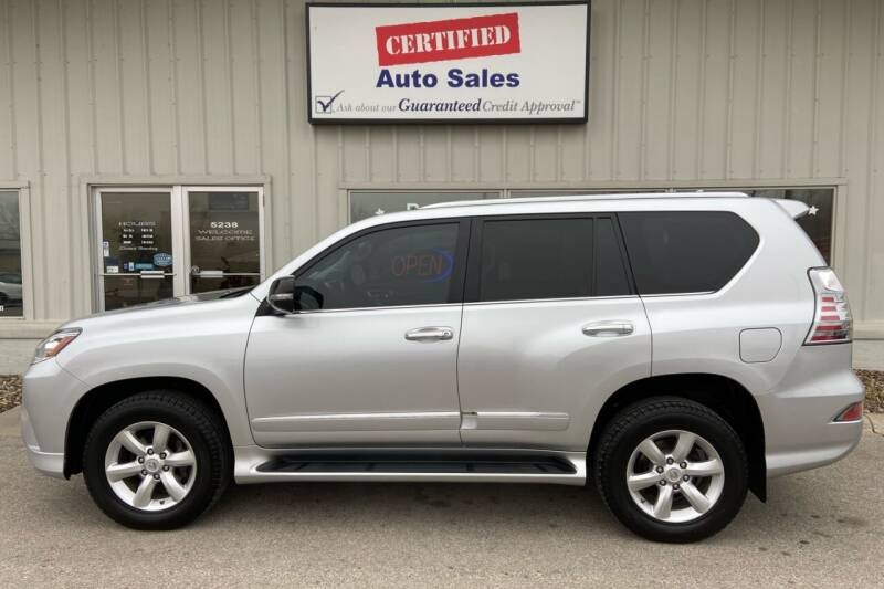 2015 Lexus GX 460 for sale at Certified Auto Sales in Des Moines IA