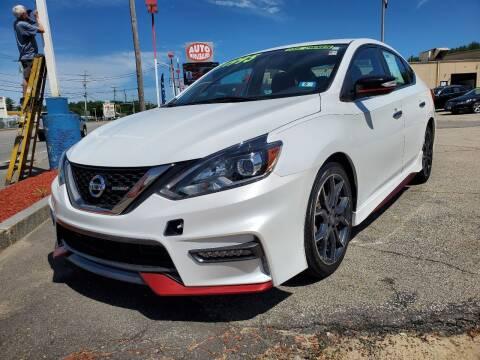 2018 Nissan Sentra for sale at Auto Wholesalers Of Hooksett in Hooksett NH