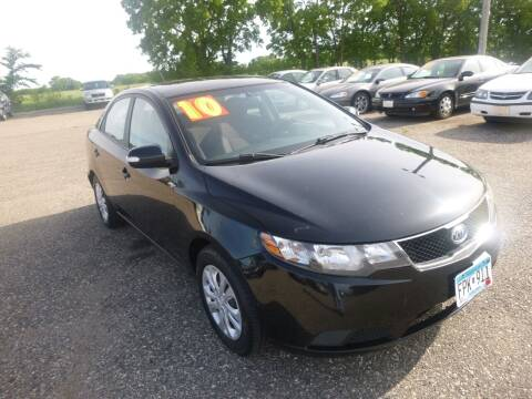 2010 Kia Forte for sale at Country Side Car Sales in Elk River MN