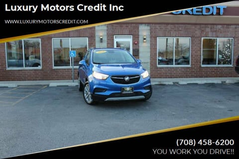 2018 Buick Encore for sale at Luxury Motors Credit Inc in Bridgeview IL