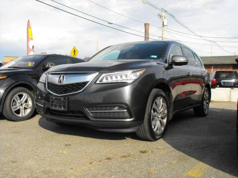 2014 Acura MDX for sale at Merrimack Motors in Lawrence MA