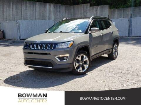 2019 Jeep Compass for sale at Bowman Auto Center in Clarkston MI