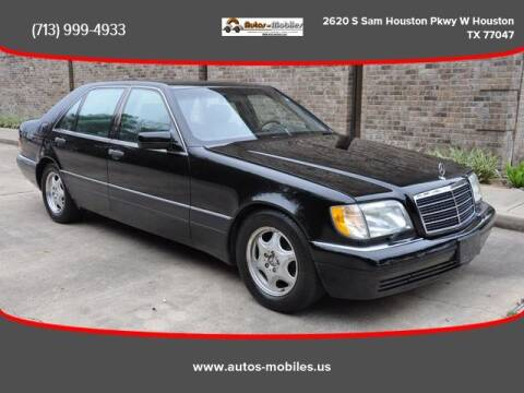 1997 Mercedes-Benz S-Class for sale at AUTOS-MOBILES in Houston TX