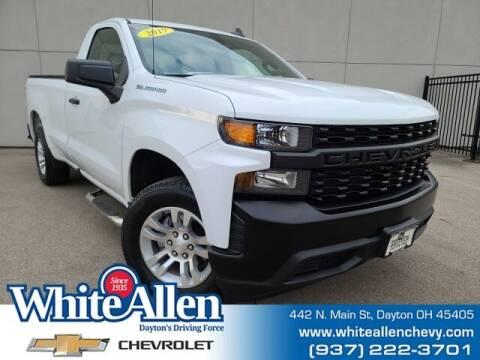 2019 Chevrolet Silverado 1500 for sale at WHITE-ALLEN CHEVROLET in Dayton OH