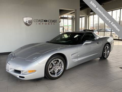 2003 Chevrolet Corvette for sale at Coast to Coast Imports in Fishers IN