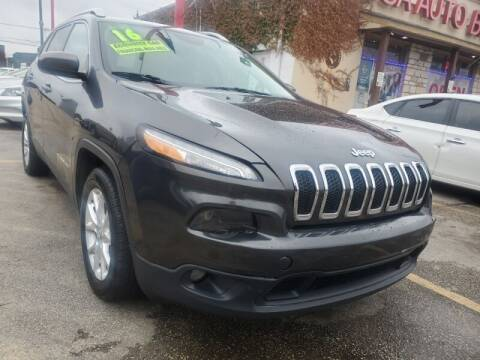 2016 Jeep Cherokee for sale at USA Auto Brokers in Houston TX
