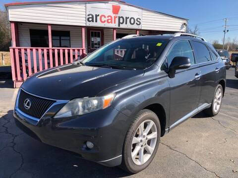 2010 Lexus RX 350 for sale at Arkansas Car Pros in Cabot AR