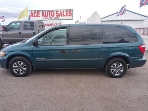 2001 Dodge Grand Caravan for sale at ACE AUTO SALES in Lake Havasu City AZ