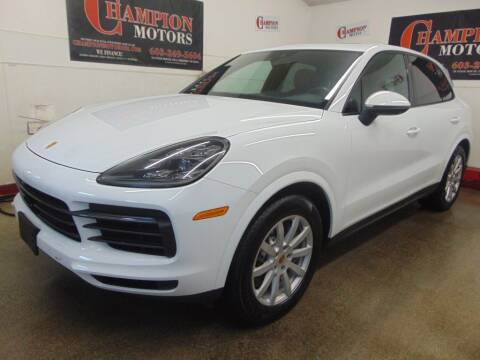 2019 Porsche Cayenne for sale at Champion Motors in Amherst NH