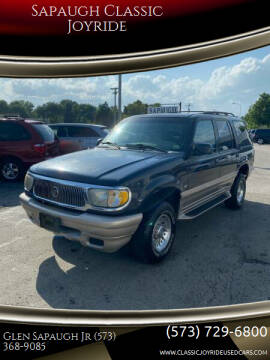 2001 Mercury Mountaineer for sale at Sapaugh Classic Joyride in Salem MO