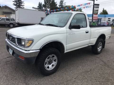 1996 Toyota Tacoma for sale at Stag Motors in Portland OR