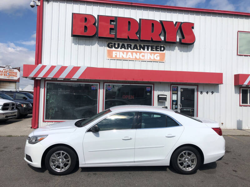 2014 Chevrolet Malibu for sale at Berry's Cherries Auto in Billings MT