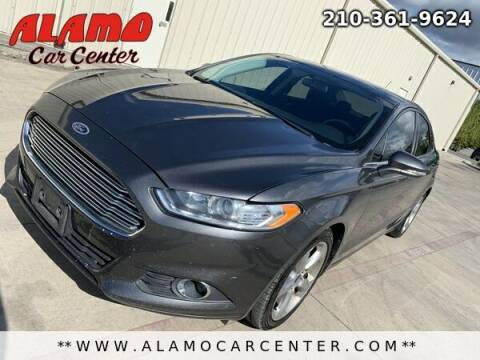 2016 Ford Fusion for sale at Alamo Car Center in San Antonio TX