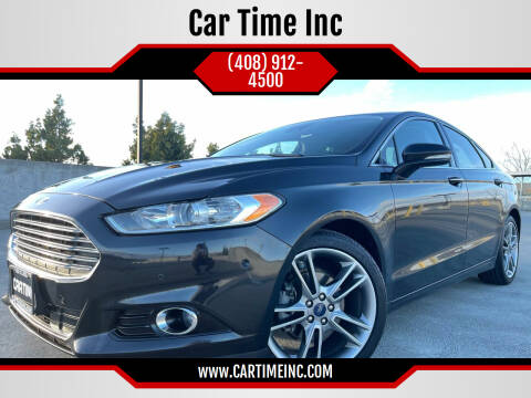 2014 Ford Fusion for sale at Car Time Inc in San Jose CA
