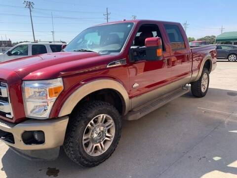 2014 Ford F-350 Super Duty for sale at J & S Auto in Downs KS