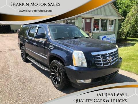 2007 Cadillac Escalade ESV for sale at Sharpin Motor Sales in Columbus OH