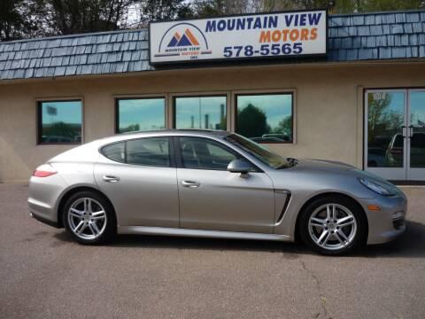 2011 Porsche Panamera for sale at Mountain View Motors Inc in Colorado Springs CO