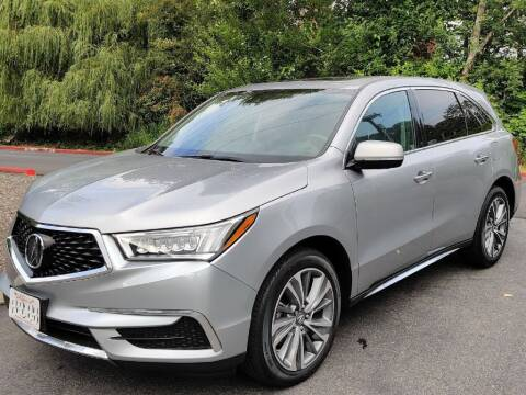 2017 Acura MDX for sale at Halo Motors in Bellevue WA