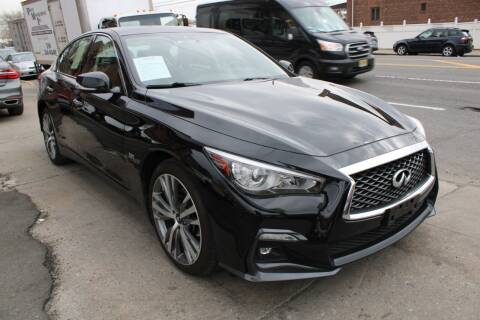 2018 Infiniti Q50 for sale at LIBERTY AUTOLAND INC in Jamaica NY