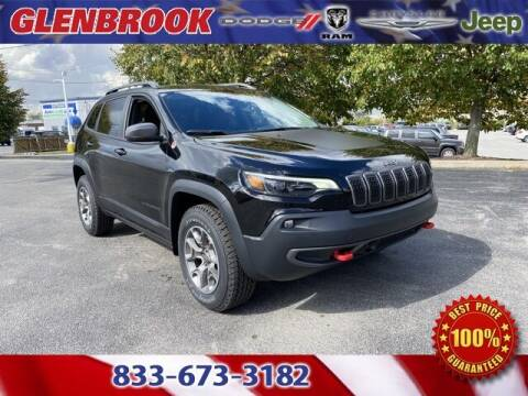 2021 Jeep Cherokee for sale at Glenbrook Dodge Chrysler Jeep Ram and Fiat in Fort Wayne IN