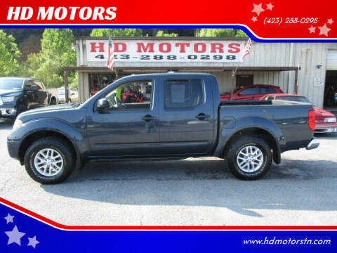 2017 Nissan Frontier for sale at HD MOTORS in Kingsport TN