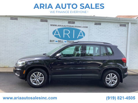 2016 Volkswagen Tiguan for sale at ARIA  AUTO  SALES in Raleigh NC