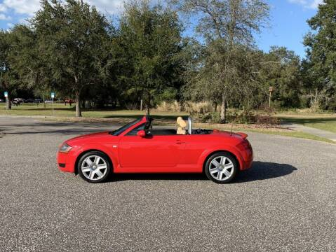 2004 Audi TT for sale at P J'S AUTO WORLD-CLASSICS in Clearwater FL