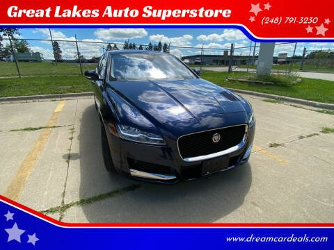 2017 Jaguar XF for sale at Great Lakes Auto Superstore 2 in Waterford MI