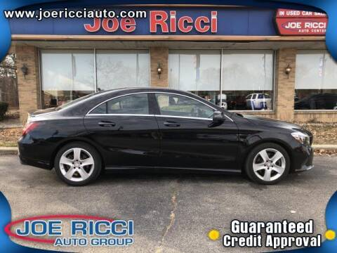 2017 Mercedes-Benz CLA for sale at Mr Intellectual Cars in Shelby Township MI