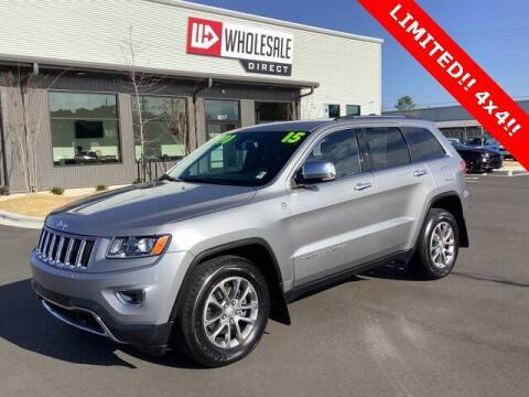 2015 Jeep Grand Cherokee for sale at Wholesale Direct in Wilmington NC