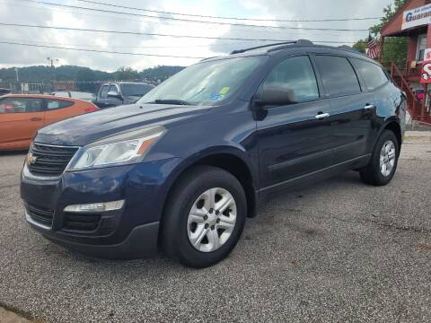 2015 Chevrolet Traverse for sale at Sissonville Used Car Inc. in South Charleston WV