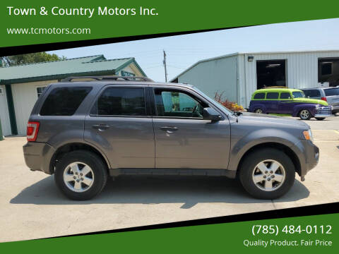2012 Ford Escape for sale at Town & Country Motors Inc. in Meriden KS