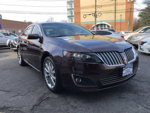 2011 Lincoln MKS for sale at 103 Auto Sales in Bloomfield NJ