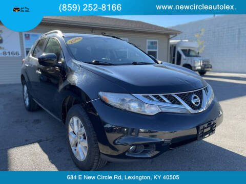 2013 Nissan Murano for sale at New Circle Auto Sales LLC in Lexington KY