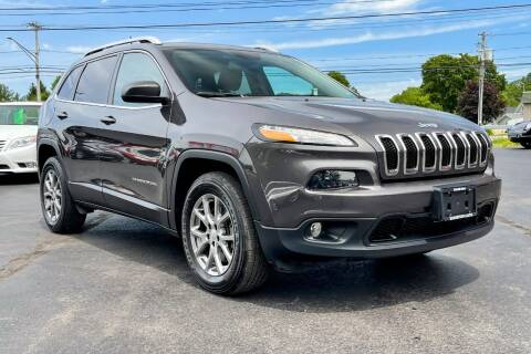 2018 Jeep Cherokee for sale at Knighton's Auto Services INC in Albany NY