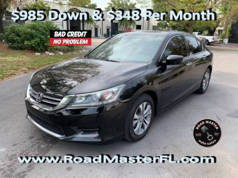 2015 Honda Accord for sale at Roadmaster Auto Sales in Pompano Beach FL