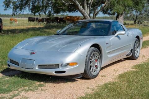 2002 Chevrolet Corvette for sale at STREET DREAMS TEXAS in Fredericksburg TX