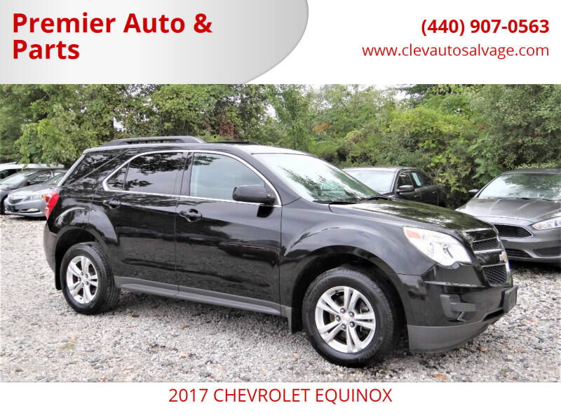 2017 Chevrolet Equinox for sale at Premier Auto & Parts in Elyria OH