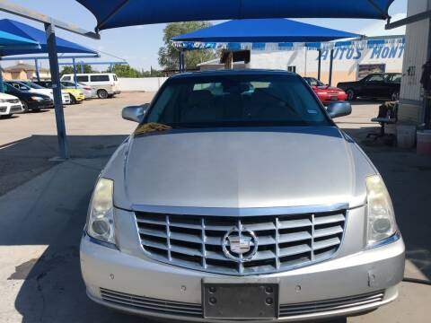 2006 Cadillac DTS for sale at Autos Montes in Socorro TX