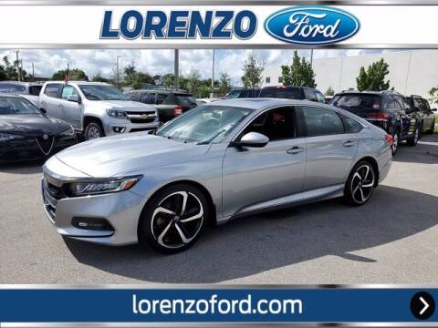 2018 Honda Accord for sale at Lorenzo Ford in Homestead FL