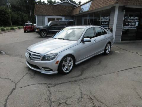 2011 Mercedes-Benz C-Class for sale at Millbrook Auto Sales in Duxbury MA