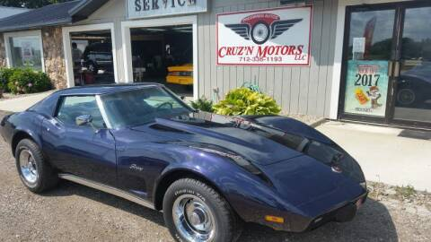 1975 Chevrolet Corvette for sale at CRUZ'N MOTORS - Classics in Spirit Lake IA