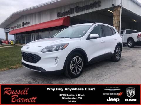 2020 Ford Escape for sale at Russell Barnett Chrysler Dodge Jeep Ram in Winchester TN