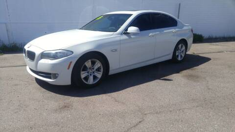 2013 BMW 5 Series for sale at Advantage Auto Motorsports in Phoenix AZ