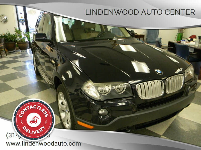2009 BMW X3 for sale at Lindenwood Auto Center in St.Louis MO